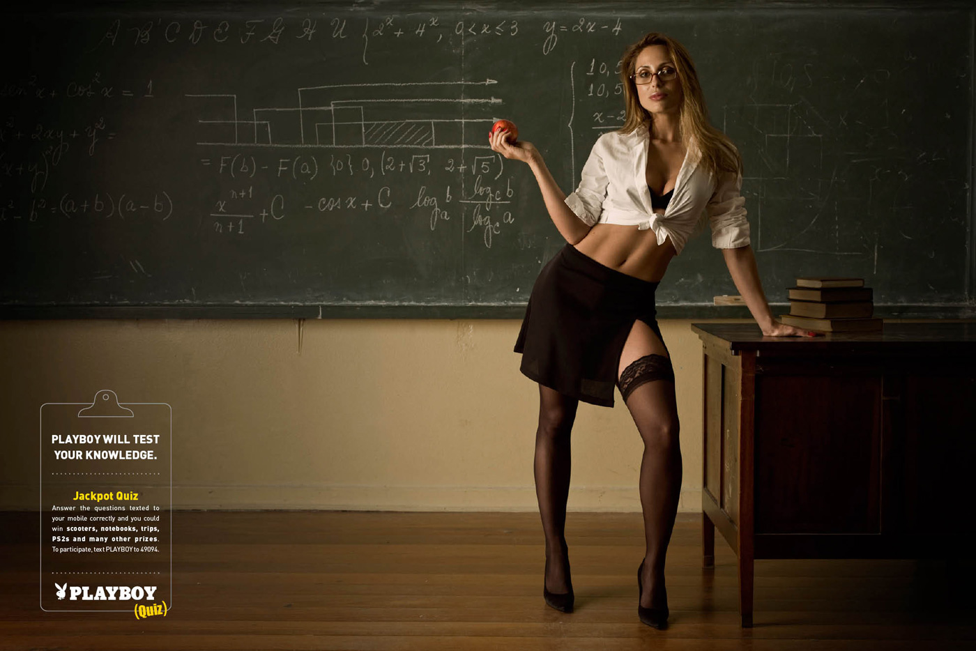hot for teacher: