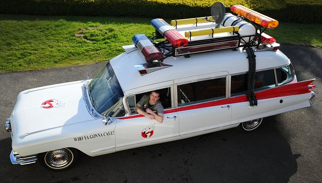 Ghostbusters Car Hire West Midlands