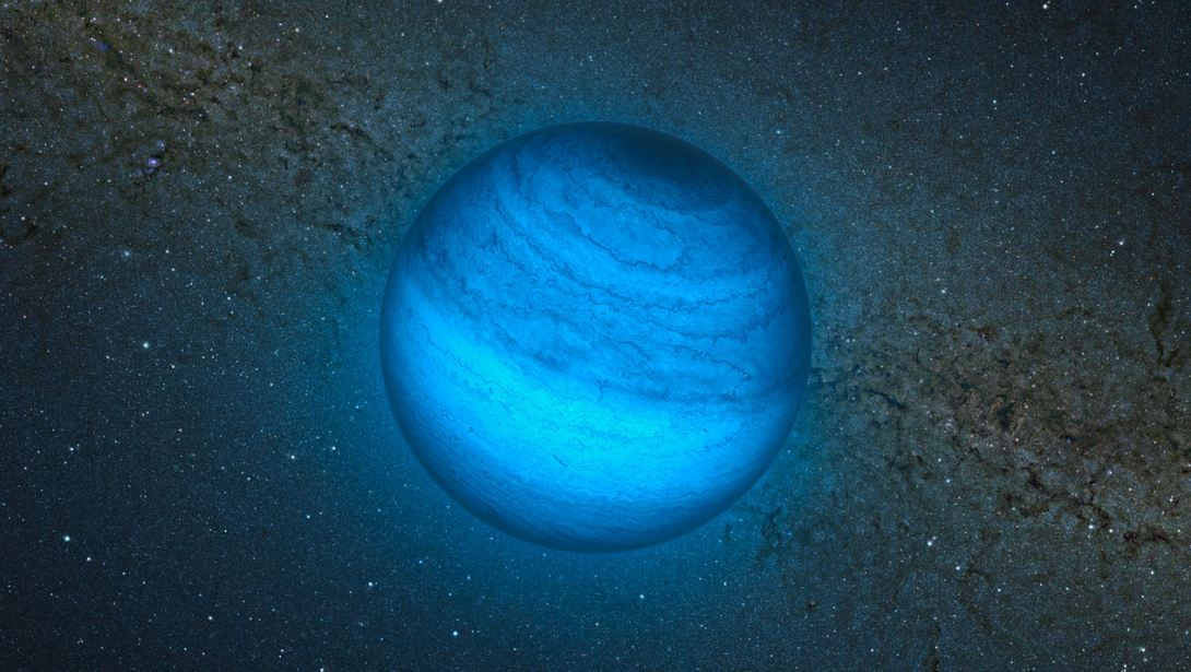 Orphan Alien Planet Without A Parent Star Discovered Nearby