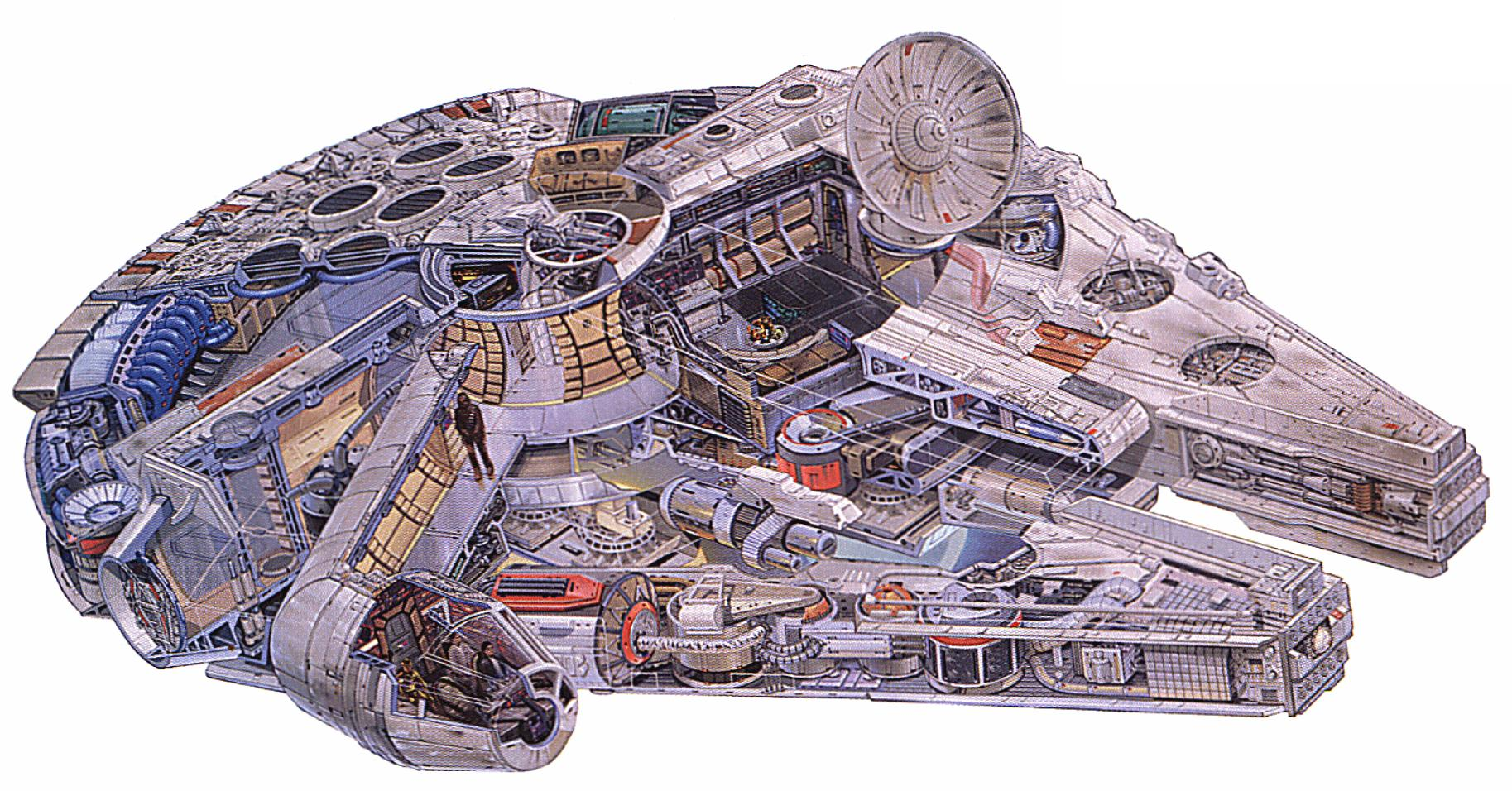 Star Wars Fans Building A Full Scale Replica Of The Millennium Falcon It 39 S Interesting