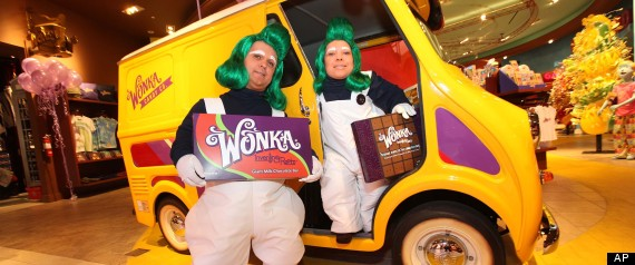 Wonka Inventing Room Collection Launch At Sweet! Hollywood Grand Opening