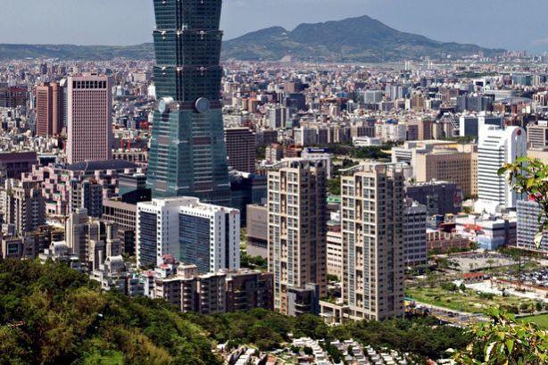 Taipei+101,+Taipei,+Taiwan+-+508m