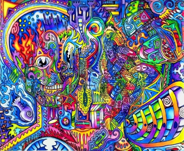Hallucination Pictures Of People