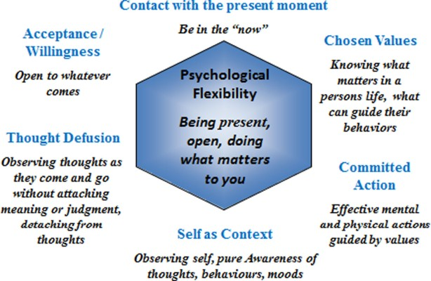 Acceptance and Commitment Therapy (ACT) shows that self-compassion may be more important than ...